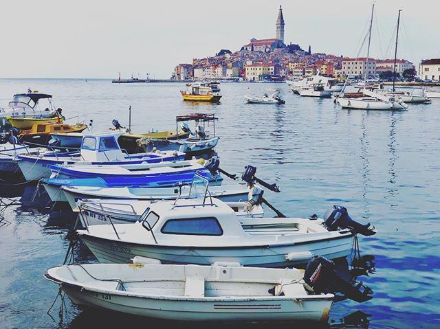 Rovinj, Croatia – beautiful seaside town and an amazing place to begin the next leg of our journey. • • • • #backpacking #adventure #traveler #travel  #mothernature #explore #traveltogether #lifewelltravelled #traveloften #croatia #explorecroatia #rovinj #adriaticsea #oldtown
